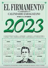 EL FIRMAMENTO CALENDARIO ZARAGOZANO 2021