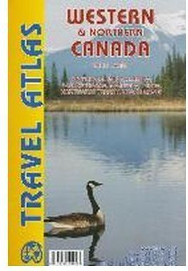 WESTERN & NORTHERN CANADA TRAVEL ATLAS -ITMB