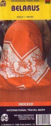 MAPA BIELORUSIA - BELARUS
