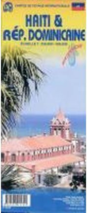 DOMINICAN REP 1:400.000 HAITI 1:350.000 -ITMB