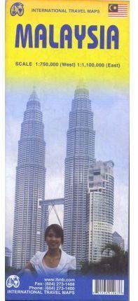 MALAYSIA 1:750.000 (WEST) 1:1.100.000 (EAST) -ITMB