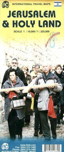JERUSALEM 1:10.000 & HOLY LAND 1:225.000 -ITMB