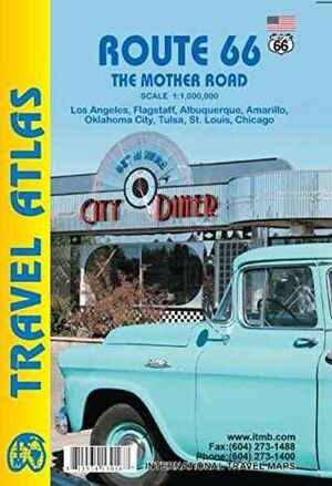 ROUTE 66 THE MOTHER ROAD 1:1.000.000 -ITMB