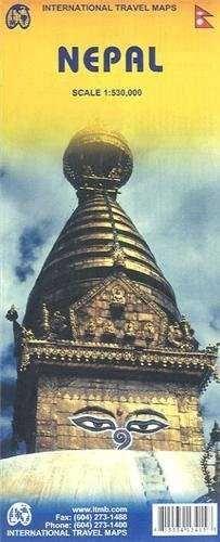 MAPA NEPAL 1:530.000 -ITMB