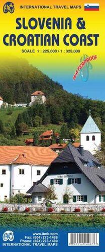 SLOVENIA 1:225.000 & CROATIAN COAST 1:325.000 -ITM