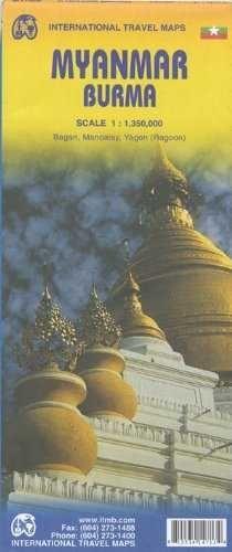 MYANMAR BURMA 1:1.350.000 -ITMB