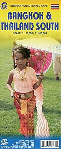BANGKOK 1:10.000 & THAILAND SOUTH 1:900.000 -ITMB