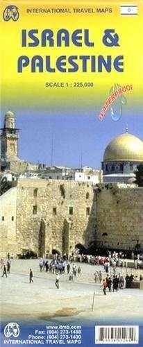 ISRAEL & PALESTINE 1:225.000 -ITMB