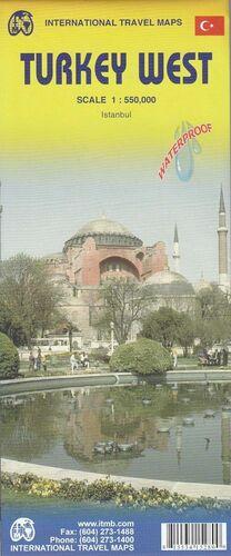 TURKEY WEST 1:550.000 -ITMB