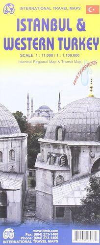 ISTANBUL 1:11.000 & WESTERN TURKEY 1:1.100.000 -ITMB