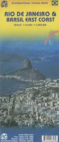 RIO DE JANEIRO 1:12.500 BRASIL EAST COAST 1:3.000.000 -ITMB