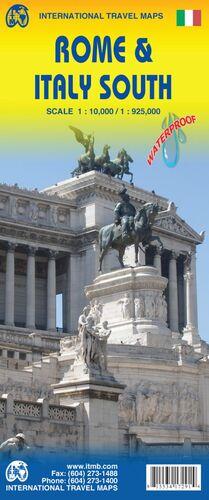 ROME 1:10.000 & ITALY SOUTH 1:925.000 -ITMB
