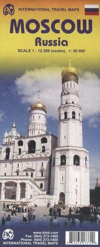 MOSCU CENTRO  **MAPA ITMB 2011**