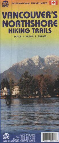 VANCOUVER'S NORTHSHORE HIKING TRAILS 1:40.000/1:250.000-ITMB