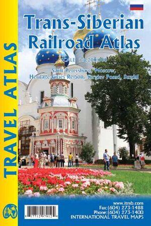 TRANS-SIBERIAN RAILROAD ATLAS 1:3.200.000 -ITMB