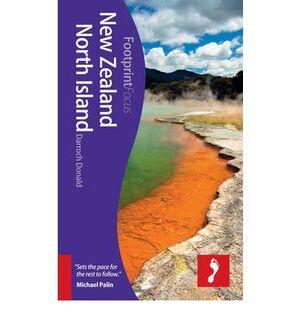 NEW ZEALAND NORTH ISLAND 1  *GUIAS FOOTPRINT ING.2012*