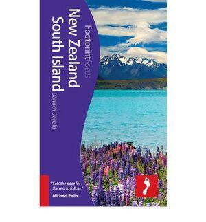 NEW ZEALAND SOUTH ISLAND 1  *GUIAS FOOTPRINT ING.2012*