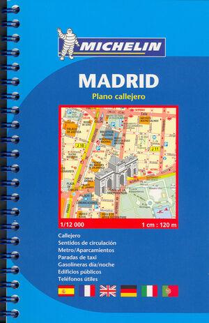 MADRID (PLANO EN ESPIRAL)