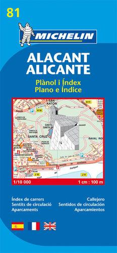 PLANO ALACANT/ALICANTE