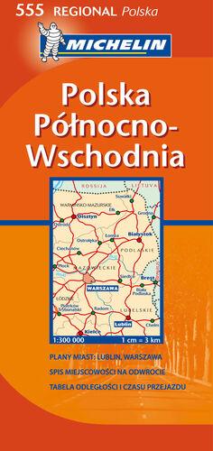 MAPA REGIONAL POLSKA PÓ?NOCNO-WSCHODNIA / POLAND NORTH EAST