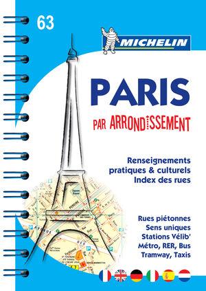 PLANO PARIS PAR ARRONDISSEMENT