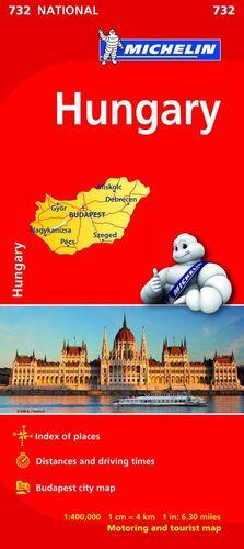MAPA NATIONAL HUNGARY