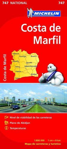 MAPA NATIONAL COSTA DE MARFIL