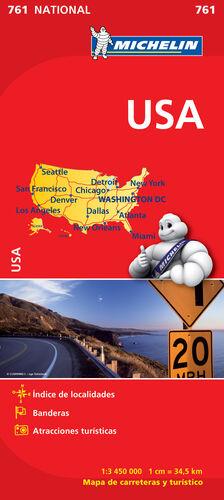 MAPA NATIONAL U.S.A.