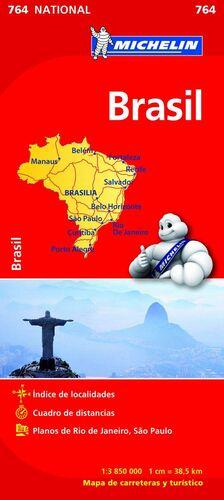 MAPA NATIONAL BRASIL