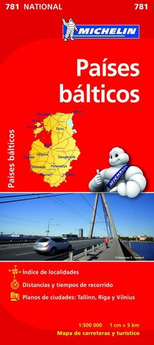 MAPA NATIONAL PAÍSES BÁLTICOS