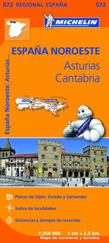 MAPA REGIONAL ASTURIAS, CANTABRIA