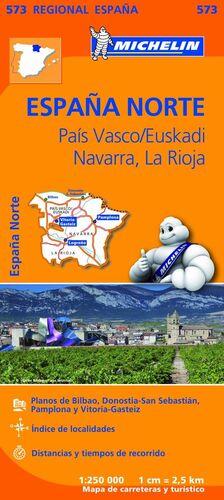 MAPA REGIONAL PAÍS VASCO/EUSKADI, NAVARRA, LA RIOJA