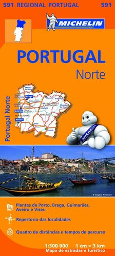 MAPA REGIONAL PORTUGAL NORTE