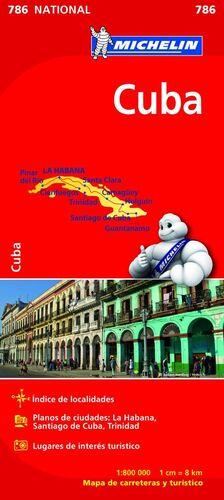 MAPA NATIONAL CUBA