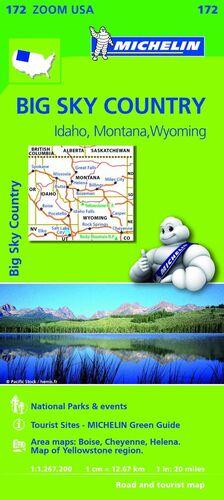 MAPA ZOOM USA BIG SKY COUNTRY