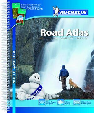 ROAD ATLAS NORTH AMERICA - USA, CANADA, MEXICO