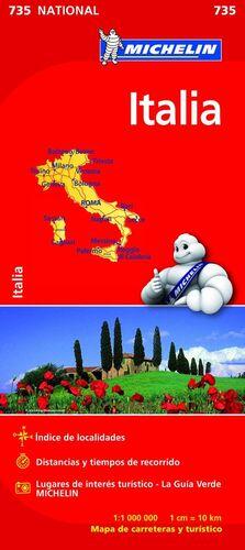 MAPA NATIONAL ITALIA
