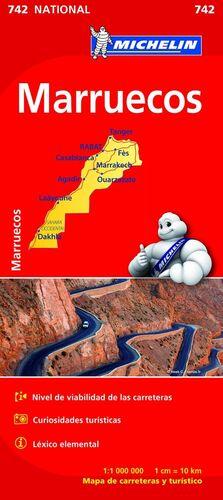 MAPA NATIONAL MARRUECOS