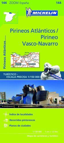 MAPA ZOOM PIRINEOS ATLÁNTICOS / PIRINEO VASCO-NAVARRO
