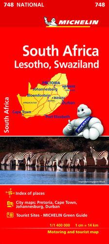 MAPA NATIONAL SUDAFRICA
