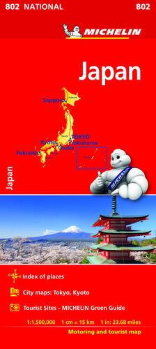 MAPA NATIONAL JAPÓN