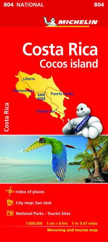 MAPA NATIONAL COSTA RICA