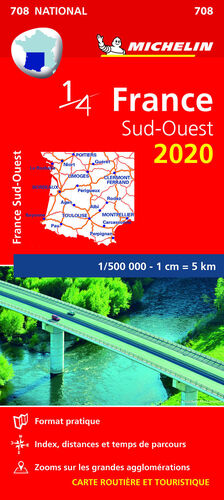 MAPA NATIONAL FRANCE SUD-OUEST 2020
