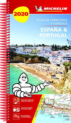 ESPAÑA & PORTUGAL 2020 (ATLAS DE CARRETERAS Y TURÍSTICO )