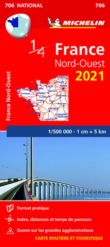 MAPA NATIONAL FRANCIA NORD-OUEST 2021