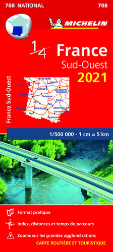MAPA NATIONAL FRANCIA SUD-OUEST 2021
