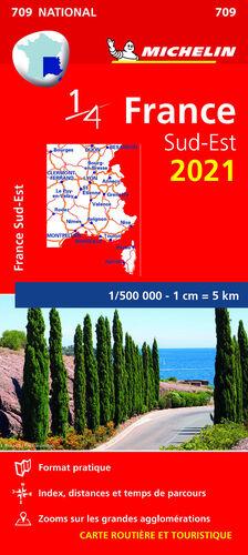 MAPA NATIONAL FRANCIA SUD-EST 2021