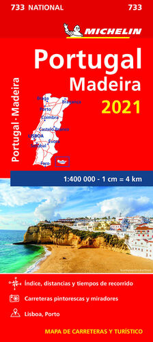 MAPA NATIONAL PORTUGAL, MADEIRA 2021