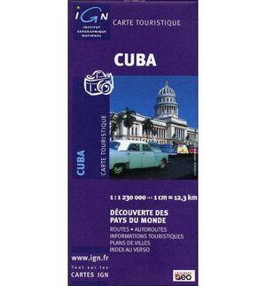 MAPA CUBA 1:1230000