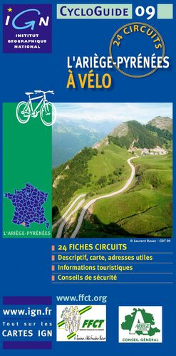 ARIEGE A VELO, L' -CYCLOGUIDE IGN